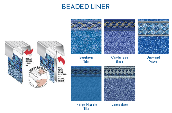Beaded Liner images