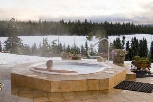 hot tub winter