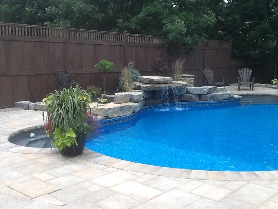 Vinyl inground swimming pools for ottawa homes poolarama for Vinyl inground pool