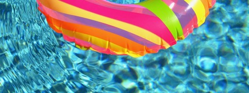 On ground pools are often the safest option, especially with swimming pool safety covers.