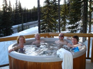 Hot tubs in Ottawa can be installed on balconies, or even indoors.