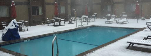 Learn how to care for salt water swimming pools in Ottawa winter weather.