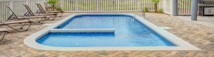 zero opacity swimming pool background