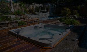 hot tub photo dark overlay